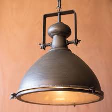 With Its Smooth Antique Inspired Design And Organic Teardrop Shape This Piece Adds Rustic Kitchen LightingRustic
