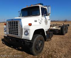 1984 Ford 9000 Truck Cab And Chassis | Item ER9322 | Tuesday... Approx 1980 Ford 9000 Diesel Truck Ford L9000 Dump Truck Youtube For Sale Single Axle Picker 1978 Ta Grain 1986 Semi Tractor Cl9000 1971 Dump Truck Item L4755 Sold May 12 Constr Ltl Real Trucks Pinterest Trucks And Hoods Lnt Louisville A L Flickr Tandem Axle The Dalles Or