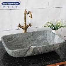 klassische natürliche schwarz marmor stein waschbecken für hotel badezimmer buy sink for hotel bathroom marble bathroom trough sink