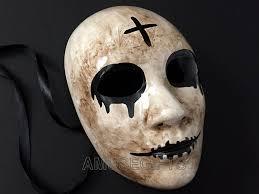 The Purge God Mask Halloween by Amazon Com The Purge Cross Mask Anarchy Mask Horror Killer