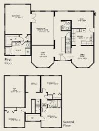 The Two Story Bedroom House Plans by Story House Plans