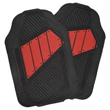 Scion Frs Red Floor Mats by Amazon Com Motor Trend Flextough 2 Tone Rubber Car Floor Mats For
