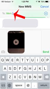 How to Send a Video as a Text Message on the iPhone 5 Solve Your