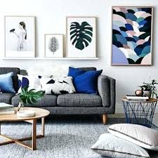 Blue Grey Living Room Inspiration How To Style A Sofa Light And