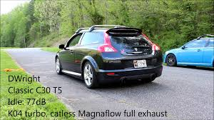 Volvo C30 K04 Turbo Catless Full Magnaflow Exhaust DWright