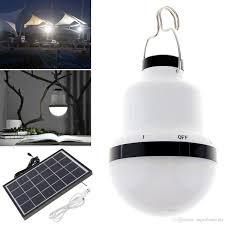 kk bol solar powered energy conservation light portable led bulb