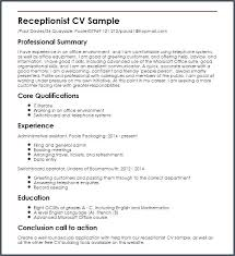 Hair Salon Receptionist Resume Examples Sample You Need To Know