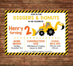 Invitation Wording For Construction Party Best Boy Diggers Donuts ... 9 Of The Best Kids Birthday Party Ideas Gourmet Invitations Cstruction Invite Dumptruck Invitation 5x7 Free Printable Cstruction Invitations Idevalistco Tandem Dump Trucks For Sale Also Truck Safety Procedures And Gmc 25 Digger Fill In 8th Card Luxury Boy Tonka Classic Toy Amazoncouk Toys Games Transportation Train Invite Car Play Everyday Mom