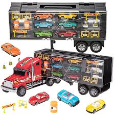 Prextex 60cm Detachable Carrier Truck Toy Car Transporter With ... Prtex 60cm Detachable Carrier Truck Toy Car Transporter With Product Nr15213 143 Kenworth W900 Double Auto 79 Other Toys Melissa Doug Mickey Mouse Clubhouse Mega Racecar Aaa What Shop Costway Portable Container 8 Pcs Alloy Hot Mini Rc Race 124 Remote Control Semi Set Wooden Helicopters And Megatoybrand Dinosaurs Transport With Dinosaur Amazing Figt Kids 6 Cars Wvol For Boys Includes Cars Ar Transporters Toys Green Gtccrb1237