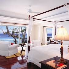 You Will Enjoy An Open Air Feeling In The Bedroom At Cottage 4 Jamaica