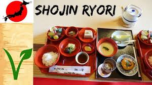 cuisine a 3000 euros shojin ryori for the traditional japanese plant