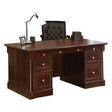 Sauder Palladia Executive Desk Assembly Instructions by Sauder Palladia Technology Pier Select Cherry Hayneedle