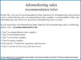 Telemarketing Sales Re Letter Sample Resume Outbound Script Template Free