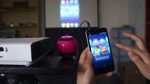 Connect Phone To Projector For Android iOS Devices iPhoneiPad