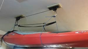 Kayak Ceiling Hoist Pulley by Ceiling Mount Bike Lift Hoist Those Bicycles To The Cloud The