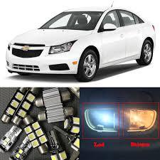 8 white auto led light bulbs for 2010 2011 2012 2013 2014 2015