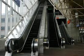 File Alewife escalators Wikimedia mons