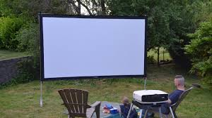 Best Outdoor Projector Screen 2017 - Reviews And Buyers Guide How To Build And Hang A Projector Screen This Great Video Sent Interior Backyard Projector Screen Lawrahetcom Backyards Appealing Movie Theater Outdoor Night Free Carls Diy Projection Screens For Running With Scissors Setup Youtube Project Photo On Awesome Best On Budget 6 Steps With Pictures Systems Design Jen Joes 25 Movie Ideas Pinterest Cinema 120 169 Hdtv Indoor Portable Front