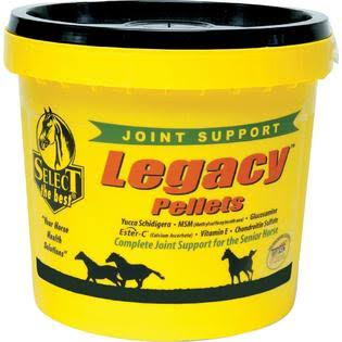 Richdel Legacy Pellets Senior Equine Horse Joint Support Supplement - 10lbs
