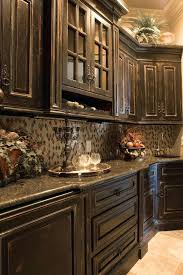 Exotic Rustic Kitchen Cabinets Lovely Painted Modest Decoration Best Distressed Ideas On