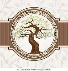 olive tree silhouette vector free Google Search