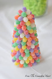 Gumdrop Christmas Tree Challenge by Publix From The Committed Heart