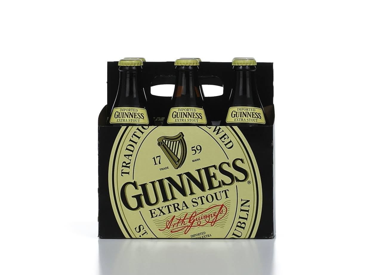Guinness Extra Stout - x6