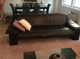 100 Roche Bobois Leather Sofa And Love Seat New York NY Trove Market