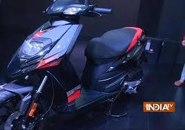 Auto Expo 2016 Piaggio Unveils 2 Wheeler Aprilia SR 150 Scooter