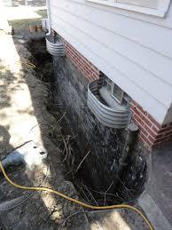 tile new drain tile in basement home interior design simple