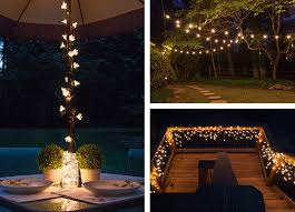 Decoration in Hanging Patio Lights Ideas Outdoor And Patio