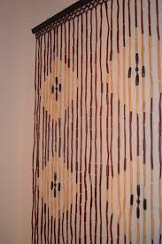 Natural Bamboo Beaded Door Curtain by Beaded Door Curtains Ideas For Home