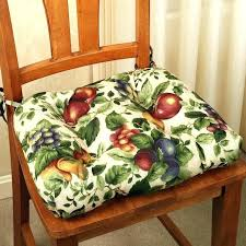 Dining Chair Pads With Ties Back Cushions Large Size Of Room