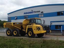 Dump Trucks - Hire, Contract Hire Or Buy? Komatsu & Hydrema