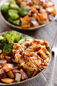BBQ Chicken Roasted Sweet Potato Bowls Are A Hearty And Healthy Dinner Idea Bursting With