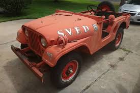 This 1953 Willys Jeep 'Fire Truck' Has Less Than 4,000 Original Miles 136184 1940 Willys Pickup Rk Motors Classic And Performance Cars 1962 Jeep Overland Front Left View Products I Love Hemmings Find Of The Day 1950 473 4wd Picku Daily 1951 Jeep Kaiser Willys Willy Pickup Truck Frame Rust Free Nice Gateway 936det 1963 For Sale 2120330 Motor News Pivnic 1957 Specs Photos Modification Info At Cardomain Truck Hot Rod Image 178 Stinky Ass Acres Rat Offroaderscom 1941 1880014 Willys Truck Related Imagesstart 150 Weili Automotive Network Rare Aussie1966 4x4 Vintage Vehicles 194171