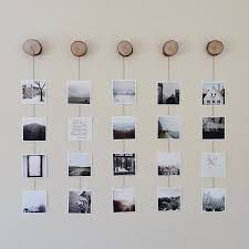 View In Gallery Diy Photo String Display