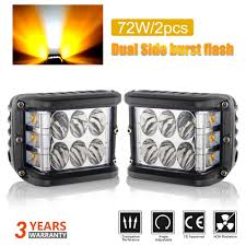 100 Lights For Trucks Hot Item 12V CREE LED Auto Driving Lamp Dual Color Strobe Offroad LED Work For Tractor