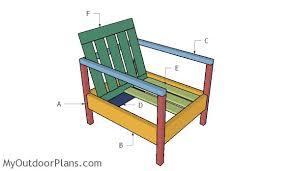 free outdoor chair plans myoutdoorplans free woodworking plans
