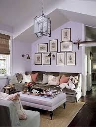 Lavender Living Room Fresh But Cosy
