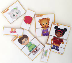 Daniel Tiger Pumpkin by Daniel Tiger Mix And Match Printable Play Cards Play Cbc Parents