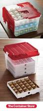 Christmas Tree Storage Bin By Iris by Best 25 Ornament Storage Box Ideas On Pinterest Ornament