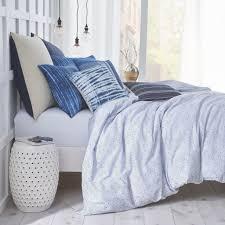 Blue Tie Dye Bedding by Shibori Chic Tie Dye Decorative Pillow U2013 Under The Canopy