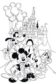 Disney World Coloring Pages To Print Archives Best Of