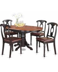amazing deal on 5 piece oval dining table and 4 dining chairs