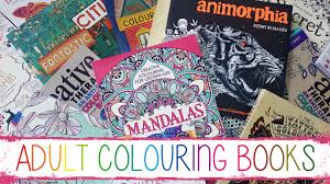 My Adult Colouring Book Collection