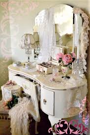 Vintage Vanity Dresser Set by Absolutely Gorgeous Vintage French Louis Style Dressing Table