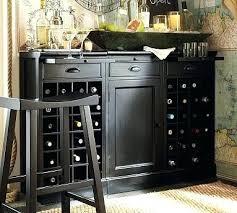 Dining Room Bar Buffet Modular Black Furniture Bars Carts Com
