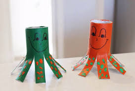 Easy Crafts For Kids With Toilet Paper Rolls