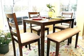Dining Tables Rustic Wood Table With Bench Breakfast Nook Furniture Sets Formal Room Akfast